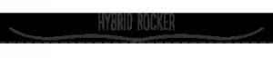 Hybrid rocker snowboard
